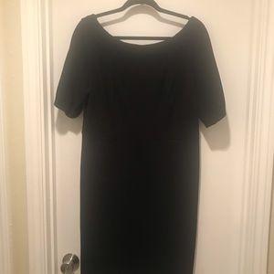 Banana Republic Black Size 14 Jackie O Type Dress